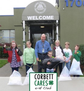 Corbett Cares 4H Blanket Drive for the Animal Shelter